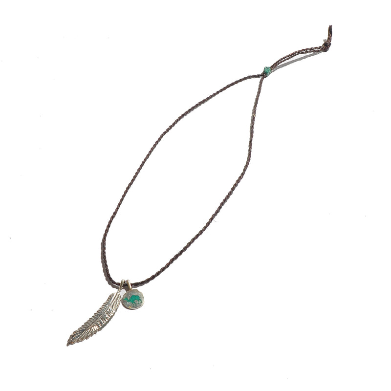 HRM 1203 N1A Hrm Feather Necklace