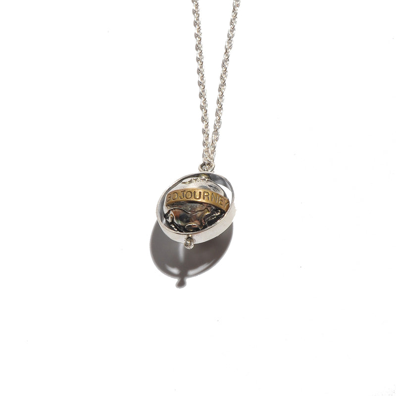 HRM 1602 N2 Go Journey Earth Necklace