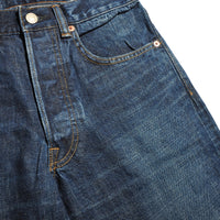 HRM PP58 Selvage Denim Washed Straight Jeans