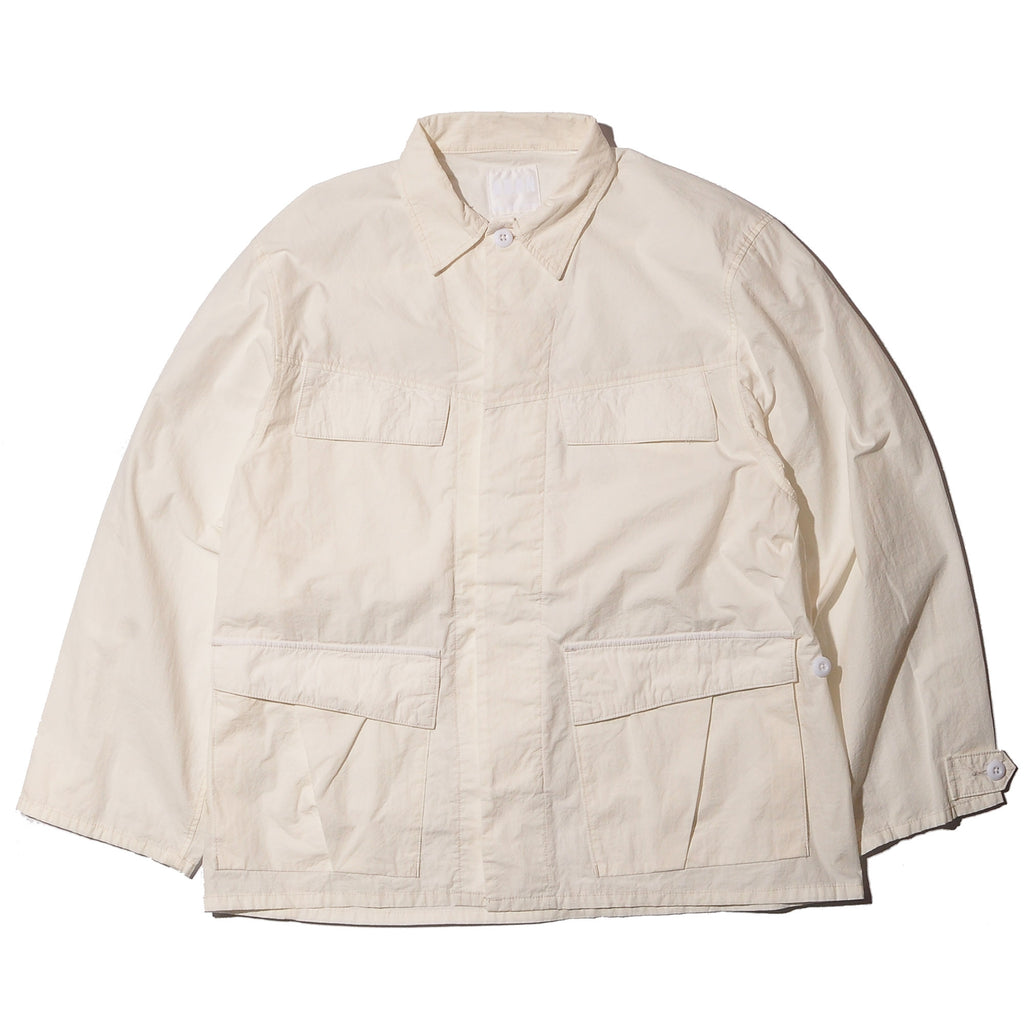 ADAN FATIGUE JACKET-WHITE