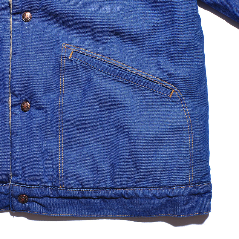ORSLOW DENIM SHERPA LINED JACKET