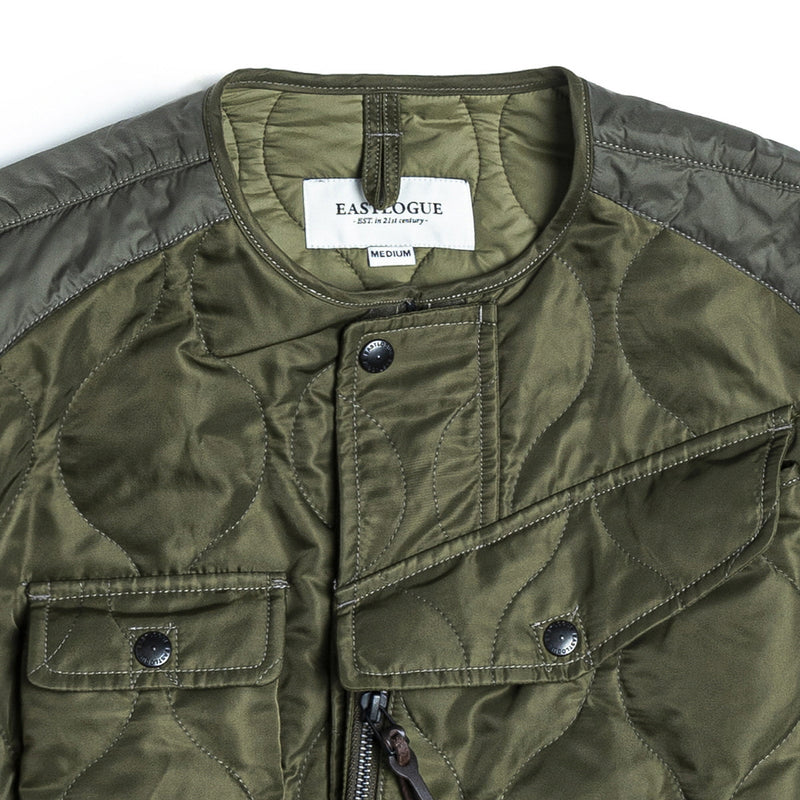 EASTLOGUE 1920FWJK05 CBA QUILTING JACKET