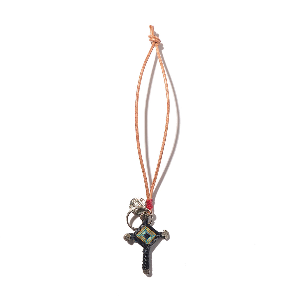 Bag Charm Peace Cross