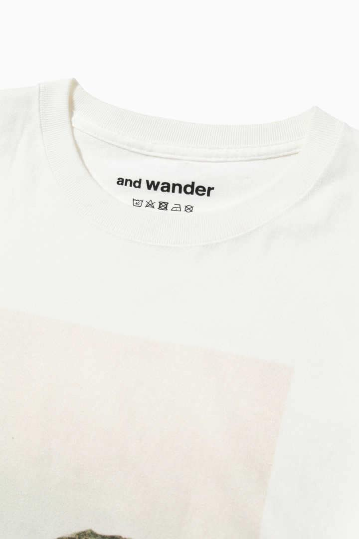 AND WANDER AW01-JT139 rock photo T by Tetsuo Kashiwada