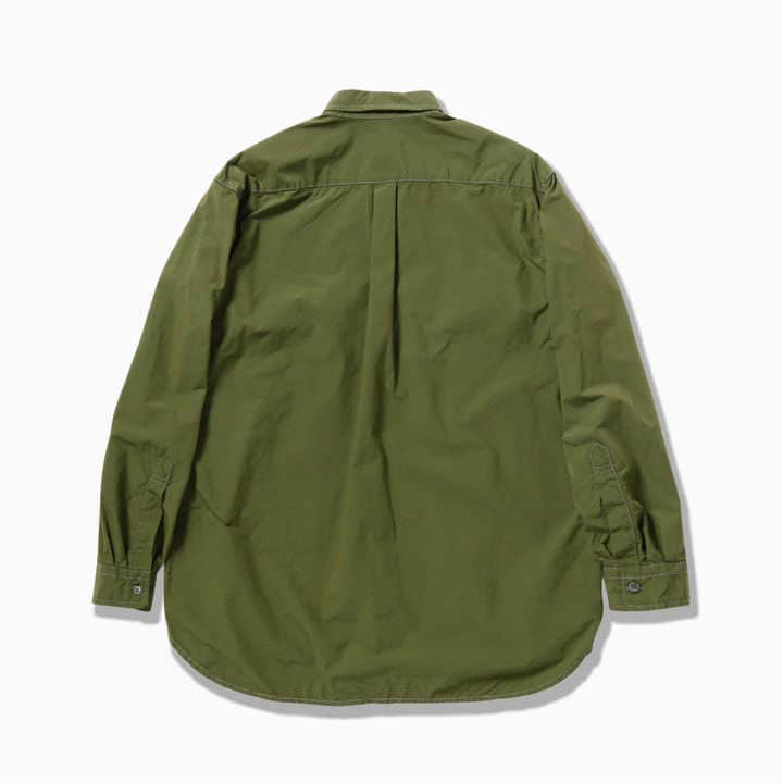AND WANDER AW01-FT045 CORDURA typewriter long sleeve over shirt