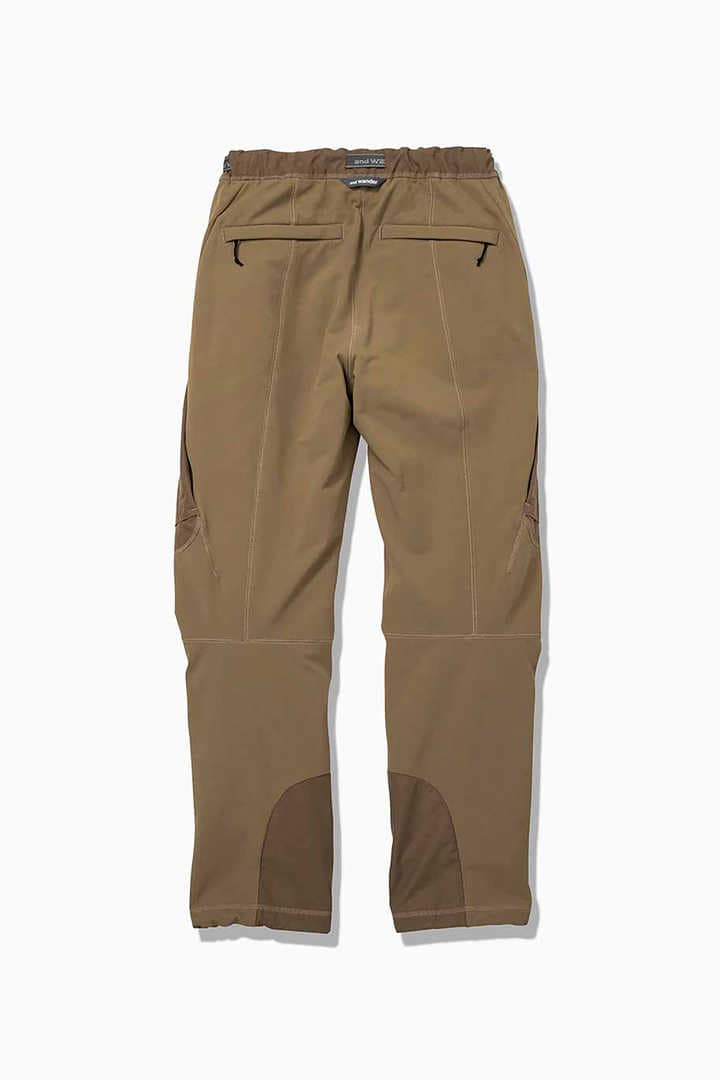 AND WANDER AW93-FF002 stretch shell pants