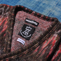 MONITALY M26731 Shaggy V Cardigan (Made in Japan)