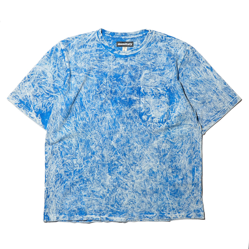MONITALY M27702 TIE DYE S/S POCKET TEE