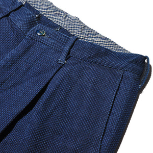 SETTO X INDIGO LABEL BLX-PT-017 Sashiko Trousers