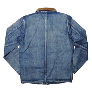 SETTO X INDIGO LABEL BLX-JK-026 Denim Coverall