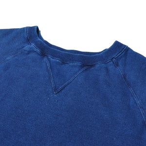 SETTO X INDIGO LABEL BLX-CS-005 Indigo Sweat Shirt