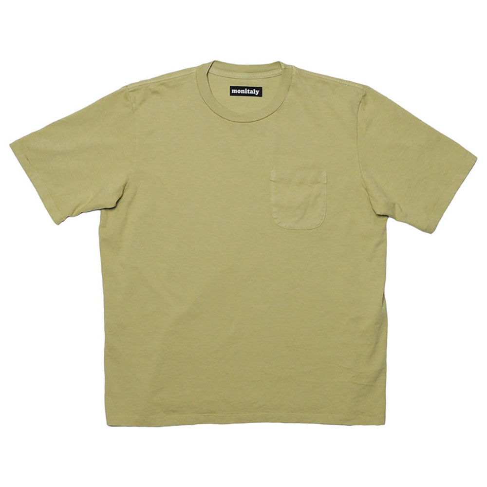 MONITALY M23751 S/S Pocket Tee