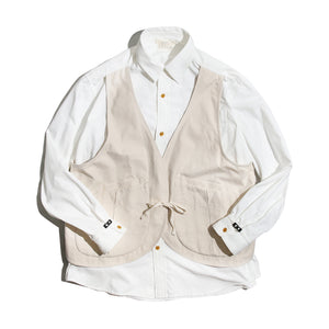 NORBIT HNSH-017 Vest Layered Long Sleeve Shirt