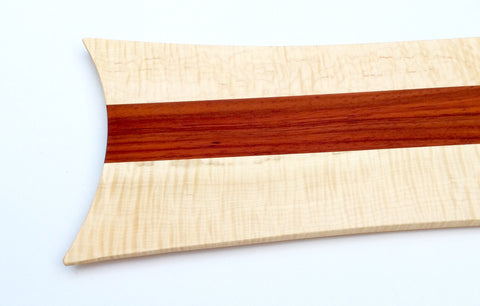Tiger Maple with Red Padauk