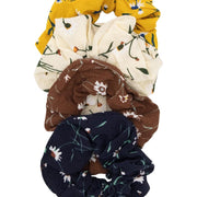 Satin Scrunchies 4pcs