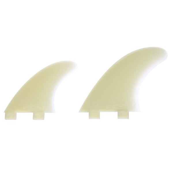 FCS Q-5Xc Natural Glass Flex IFT Quad Fin Set-2ndWind-Sports