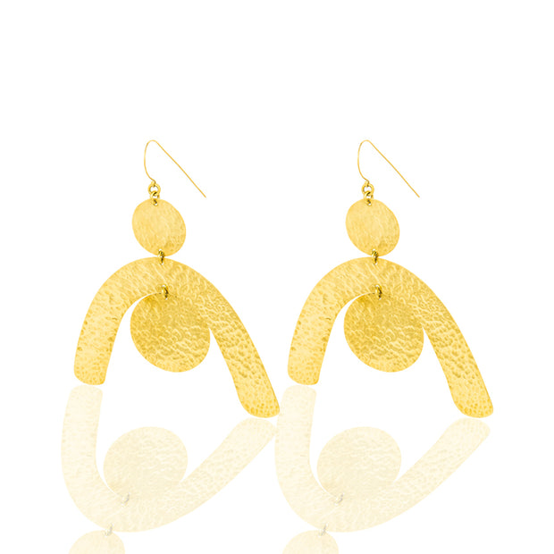 | Gold Plated Earrings For Women | Earrings  Lia Earrings Women | Lia Earrings For Women | Earrings for Women |