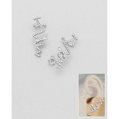 | 100% Silver Earrings | 925 Silver Earrings | Bow Earrings | Earrings | Silver Earrings | Bow Silver Earrings |