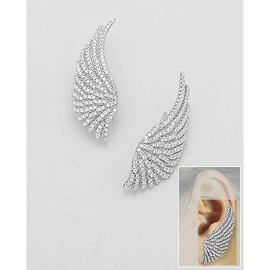 | Women Wings Earrings | Angel Wings Earring | Earrings | Wings Earrings | Wings Based Earrings | Angel Wings Earrings |