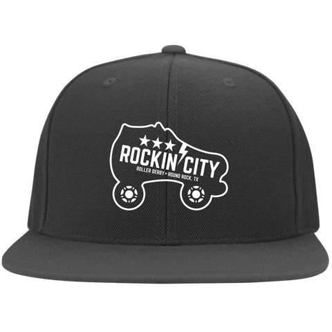New Rockin' City Logo Flat Bill Cap