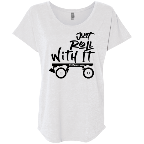 Just Roll With It - Boyfriend Tee