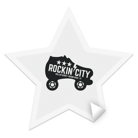 NEW Rockin' City Star Sticker