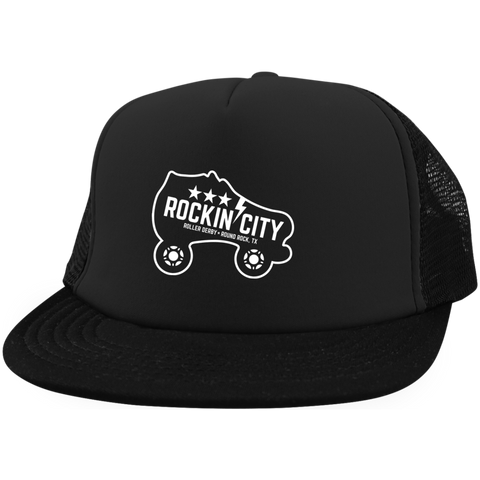 NEW Rockin' City Logo Trucker Hat
