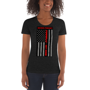 """Firefighter Support"" Women's Crew Neck T-shirt"