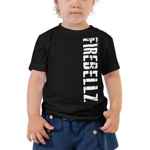 Toddler Short Sleeve Tee - FIREBELLZ front - GET SOME back