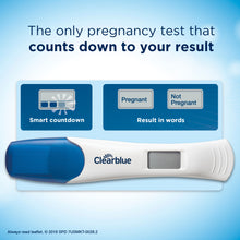 Clearblue Digital Pregnancy Test with Smart Countdown, 2 Count - Baby Dust Box
