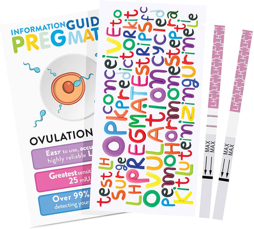 Pregmate Ovulation Test Strips - Baby Dust Box
