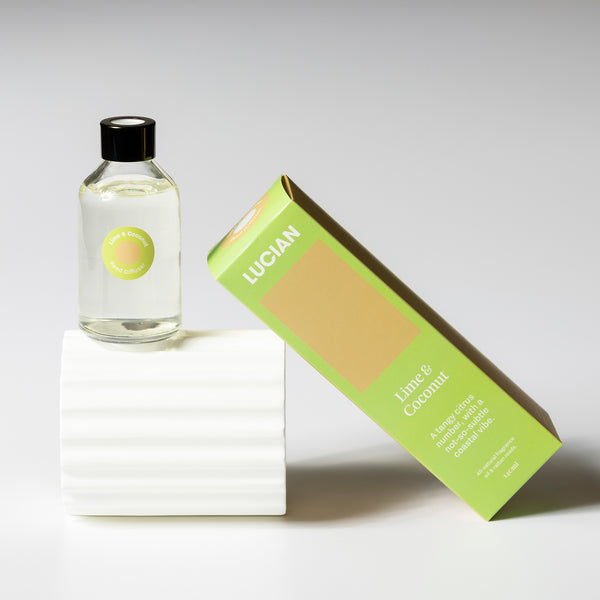 Lime & Coconut Reed Diffuser