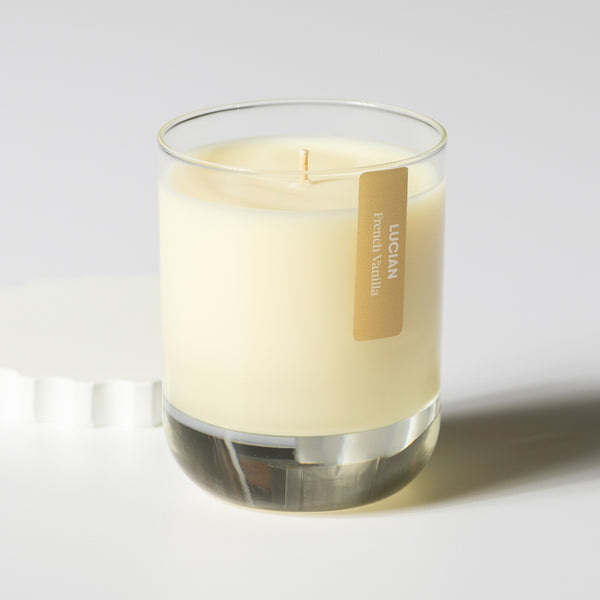 French Vanilla Glass Candle