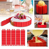 Silikon Kuchen Form DIY, 4er in Set