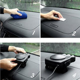 Portable Car Mounted Heater, Defroster, and Defogger