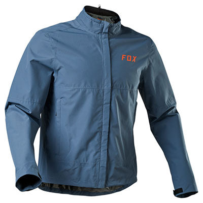Fox Racing Legion Stowaway Jacket Medium Blue Steel