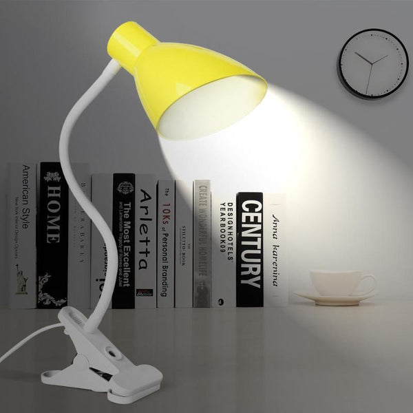 AC 110-220V Universal Flexible Light Bulb Clip Holder E26/E27 Socket Holder LED Desk Lamp Base Lamp Clip Holder