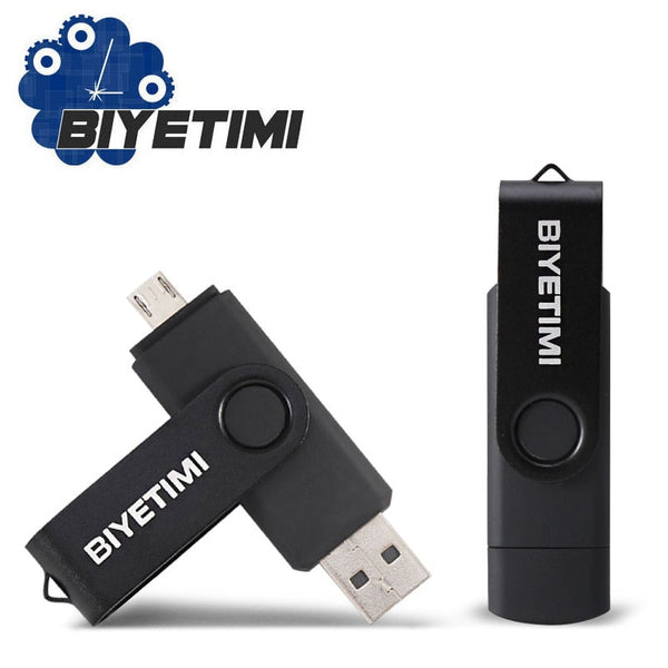 Biyetimi USB stick multifunctional OTG Usb Flash Drive for Android smart phone double Application 32Gb pen drive pendrive
