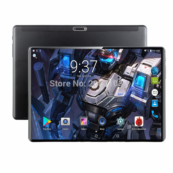 Super Tempered 2.5D Glass 4G FDD LTE 10 inch tablet pc Octa Core 6GB RAM 128GB ROM 1920*1200 IPS Screen WIFI Android 9.0 GPS