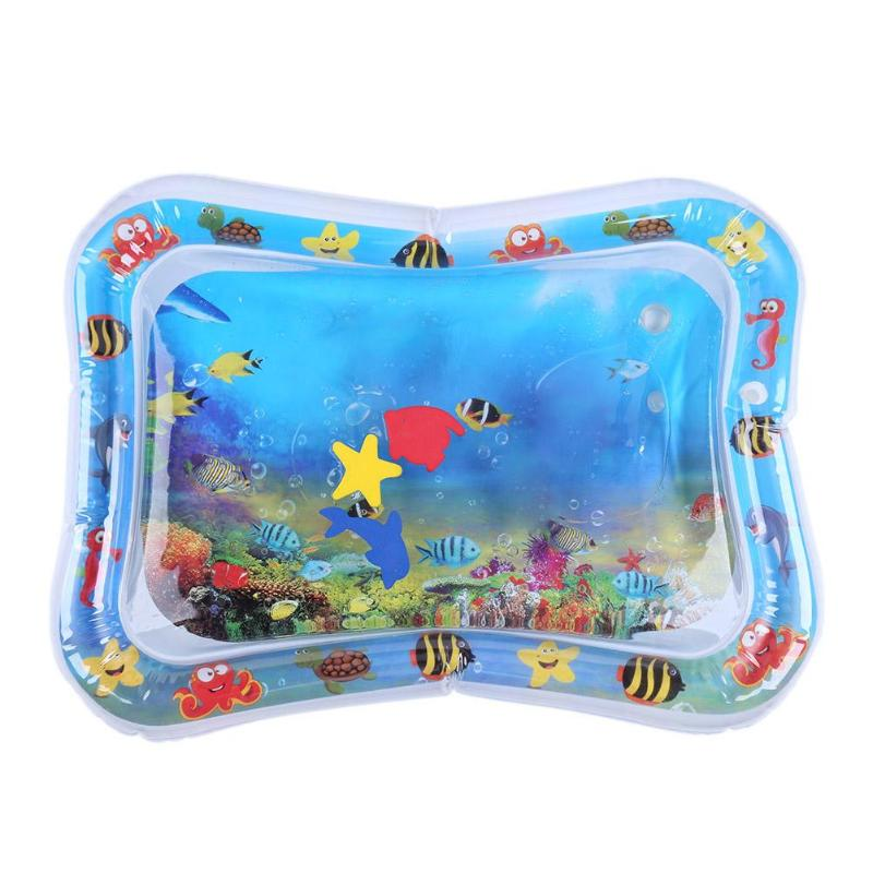 Creative Playmat Toys Kids Inflatable Fun Activity Games Pad for Children Baby Inflatable Water Play Essential Supplies