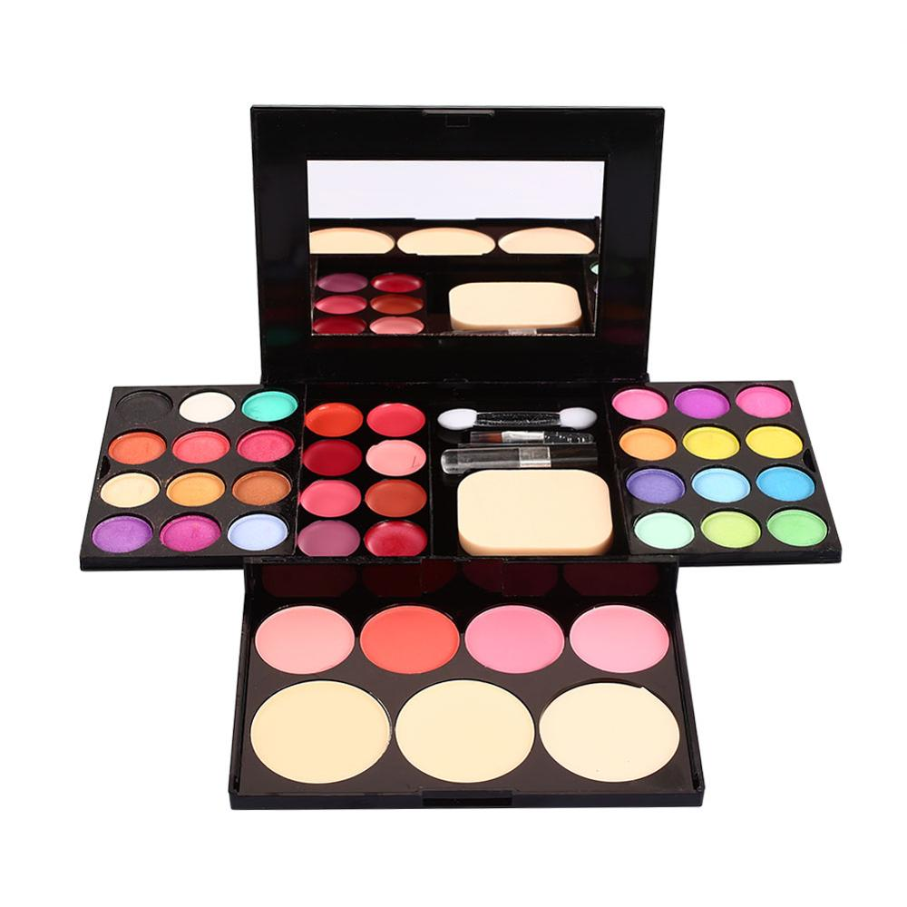 1 Set Color Eyeshadow+Eyebrow pencil Makeup Tool Make Up Kit Set Long-lasting Waterproof Make Up Matte Eyeshadow Pallete