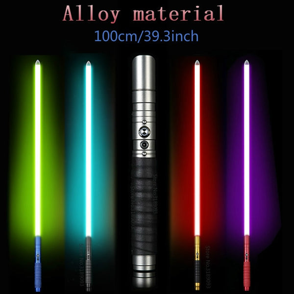 Lightsaber Jedi Sith Luke Light Saber Force FX Heavy Dueling Rechargeable Color Changing Sound FOC Lock up Metal Handle Sword