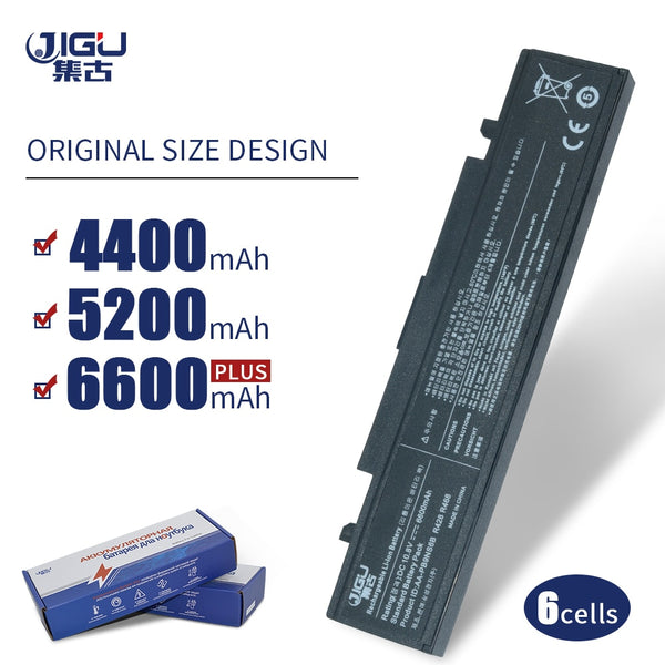 JIGU Laptop Battery For Samsung AA-PB9NS6B PB9NC6B R580 R540 R519 R525 R430 R530 RV511 RV411 RV508  R528 Aa Pb9ns6b 6CELLS