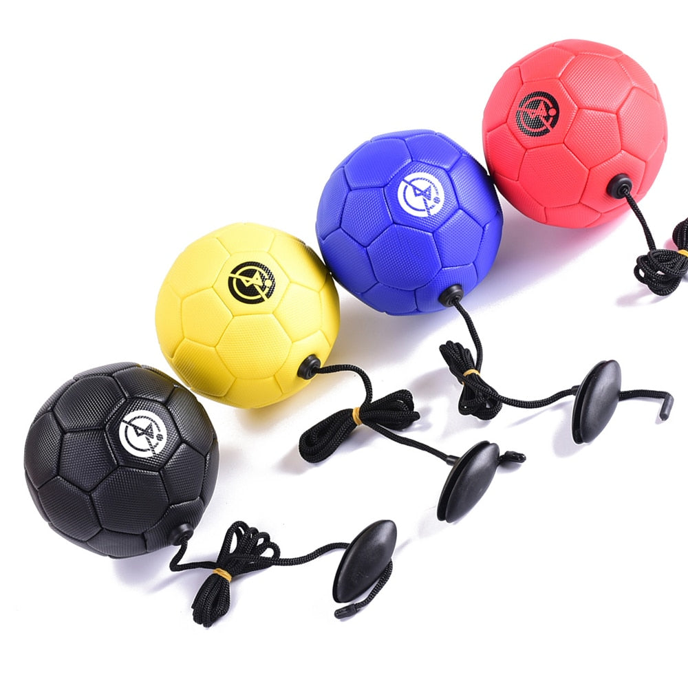 Football training ball Kick Soccer Ball TPU Size 2 kids adult futbol with String beginner Trainer Practice Belt dropshipping