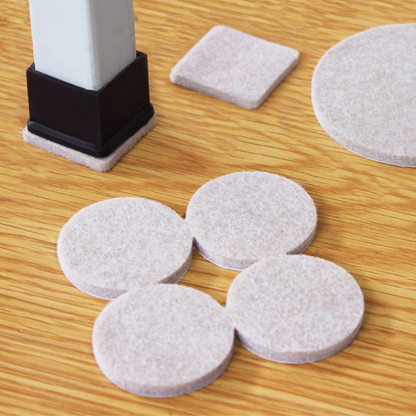 8/16/24pcs/lot Chair Leg Pads Floor Protectors for Furniture Legs Table leg Covers Round Bottom Anti-Slip Pads Rubber Feet