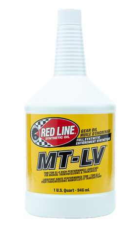 RedLine 50604 MT-LV 70W/75W GL-4 GEAR OIL 1 Quart