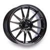 Cosmis Racing R1 Black Chrome Wheel 18x9.5 +35mm 5x114.3