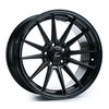 Cosmis Racing R1 Black Wheel 18x8.5 +35mm 5x114.3