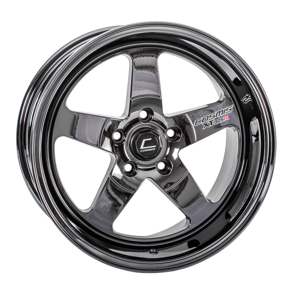 Cosmis Racing XT-005R Black Chrome Wheel 18x9 +25mm 5x114.3