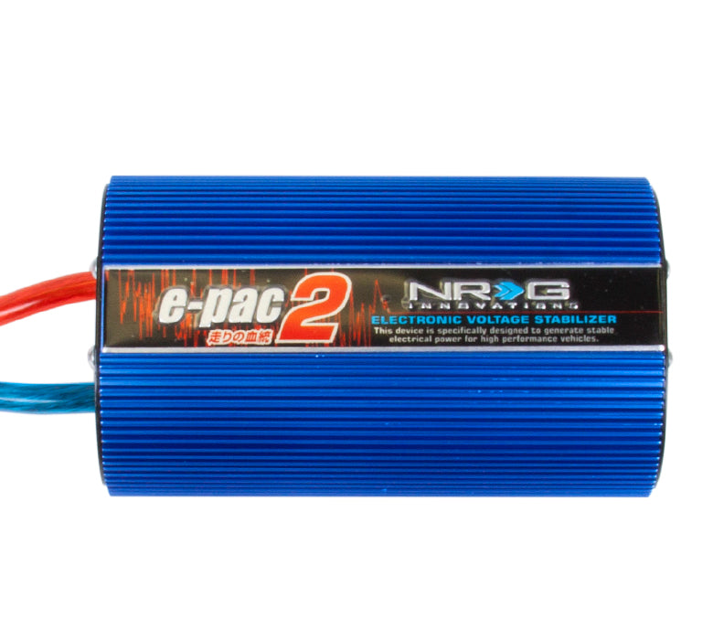 NRG EPAC-200BL EPAC Charging System Voltage Stabilizer